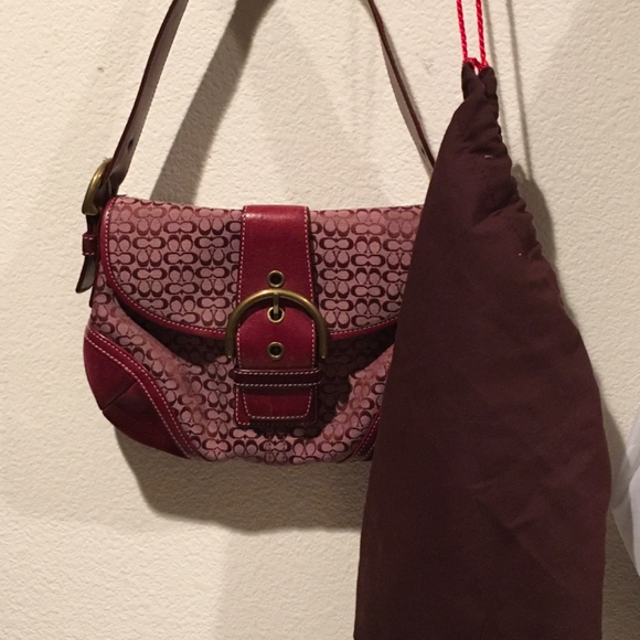 Coach Handbags - Coach Small Shoulder Bag - Unique color